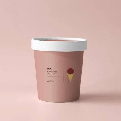 premium japanese ice cream - Azuki 2 400x400 - Kurīmu クリーム